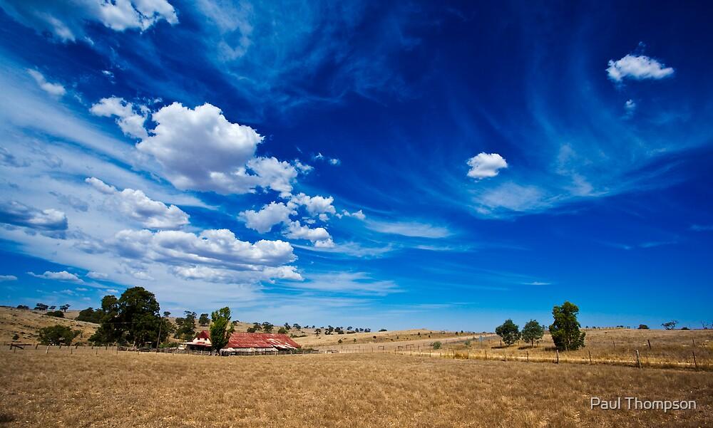 Dry Hot Farm by Paul Thompson