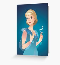 Blanche Greeting Card