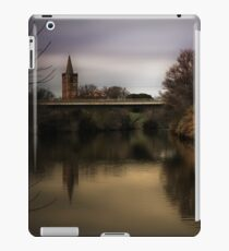 Sundown on the Rhone River iPad Case/Skin