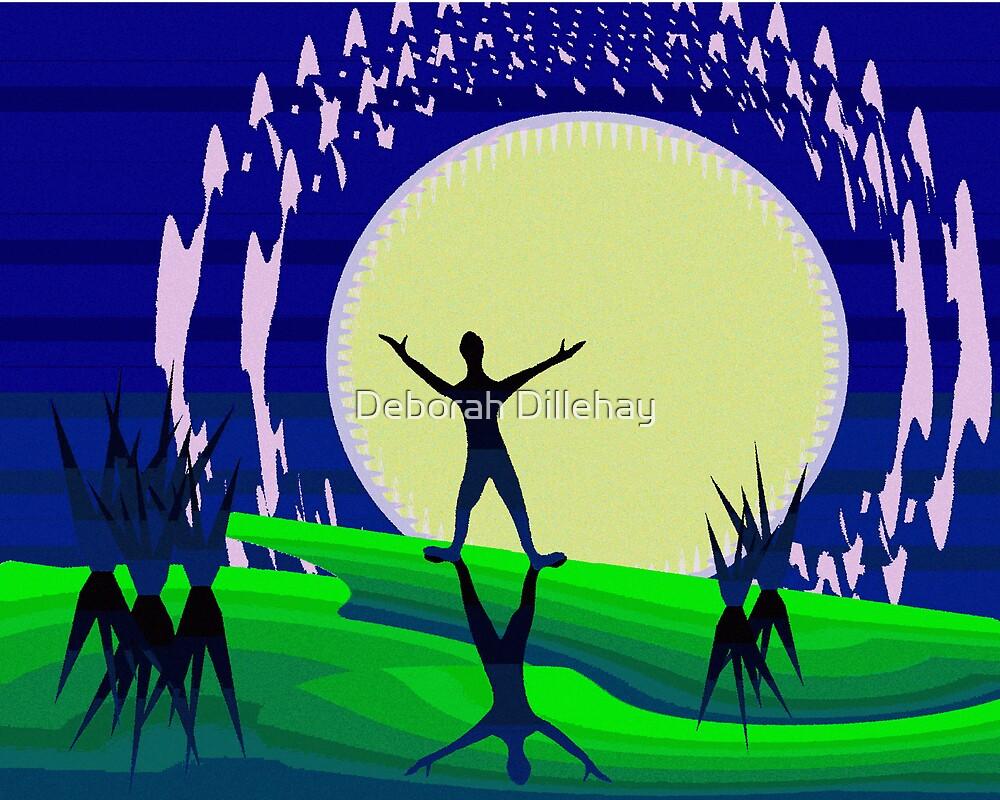 Greet the Moon by Deborah Dillehay