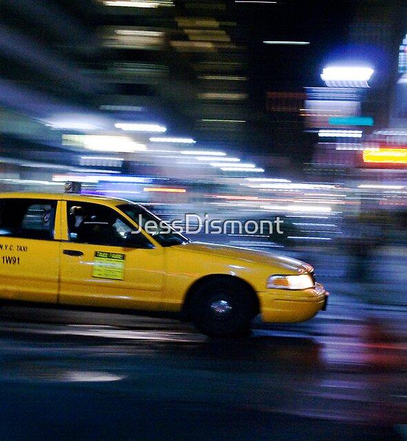 NYC Taxi 1W91 by JessDismont