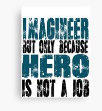 Imagineer Hero Canvas Print