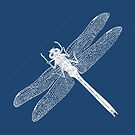 Dragonfly (Blue) by MissElaineous Designs