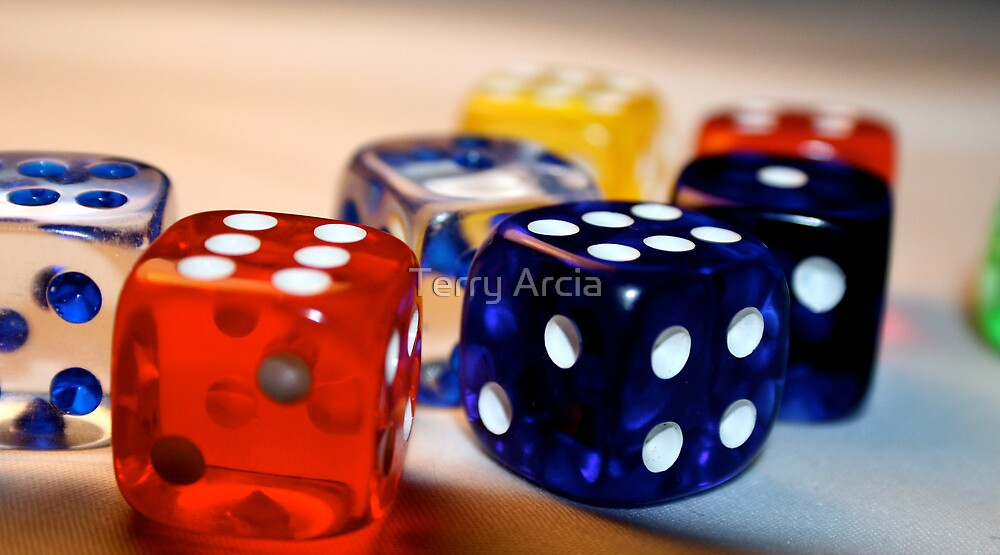 Dice II by Terry Arcia