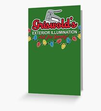Griswold's Exterior Illumination Greeting Card
