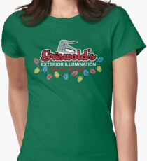 Griswold's Exterior Illumination Women's Fitted T-Shirt