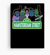 Hamsterdam Street Canvas Print