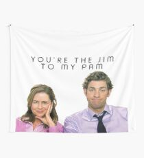 Jim to my Pam Wall Tapestry