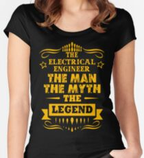 Camiseta entallada de cuello redondo ELECTRICAL ENGINEER