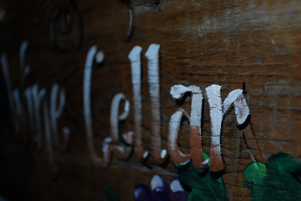 Wine Cellar by Emily Allison