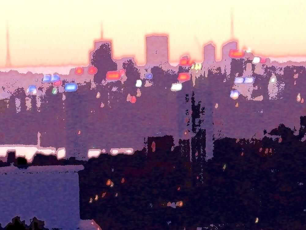 Sydney skyline by dajen edelkoort