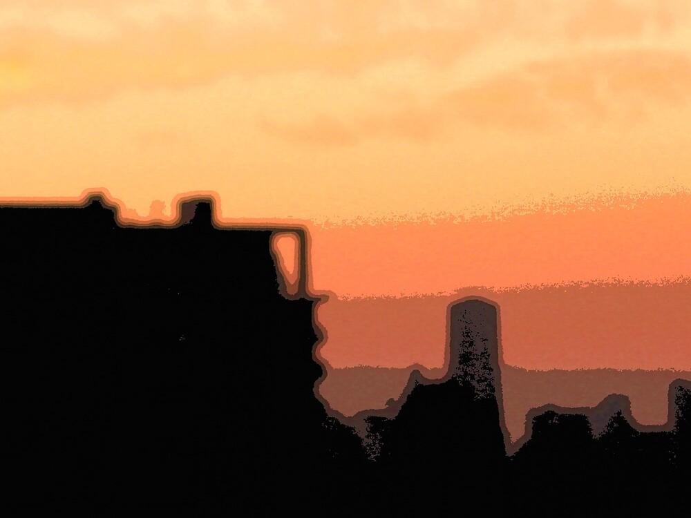 sunset in Sydney 02 by dajen edelkoort