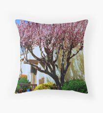 Springtime In Greenbrae  Throw Pillow