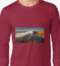 Rocks at Redgate Beach Long Sleeve T-Shirt