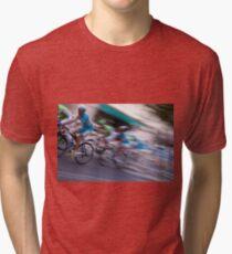 Cycle Race Tri-blend T-Shirt