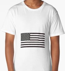 USA Flag Long T-Shirt