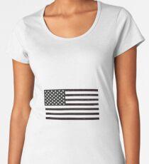 USA Flag Women's Premium T-Shirt
