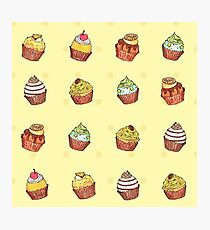 cup cakes! Photographic Print