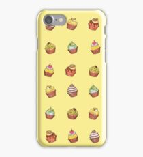 cup cakes! iPhone Case/Skin