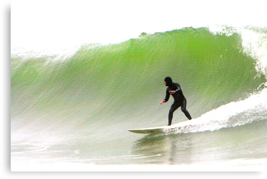 Surfin' the Big One by Ken Fortie