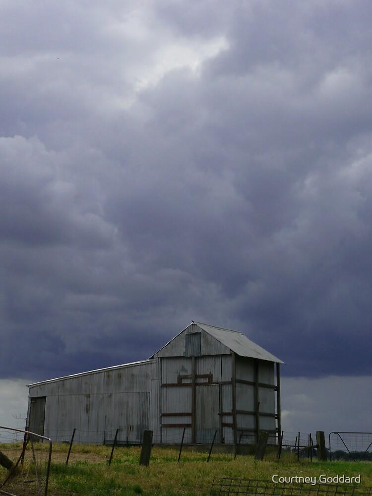 outback shed by Courtney Goddard