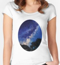Sleeping with the Stars Women's Fitted Scoop T-Shirt