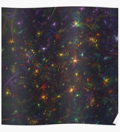 Cosmic fractals Poster