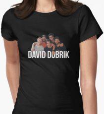 DAVID DOBRIK Womens Fitted T-Shirt