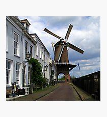 """Molen """"Rijn en Lek"""" ~ Wijk bij Duurstede Photographic Print"""