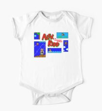 Alex Kidd in Miracle World - Title Screen One Piece - Short Sleeve