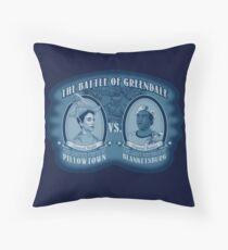 Pillows Vs. Blankets Throw Pillow