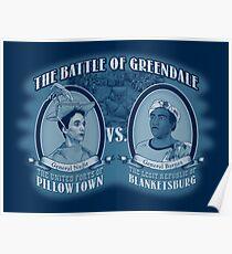 Pillows Vs. Blankets Poster