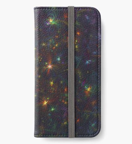 Cosmic fractals iPhone Wallet