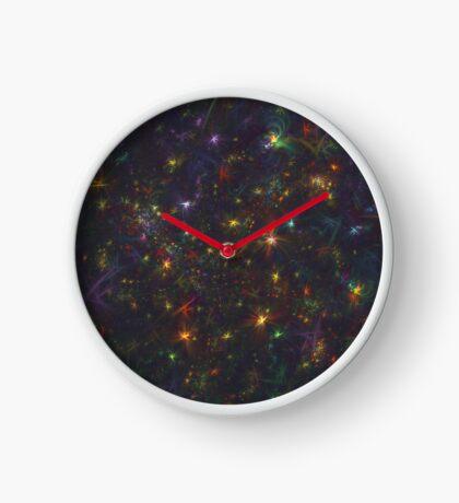 Cosmic fractals Clock