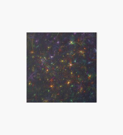 Cosmic fractals Art Board Print