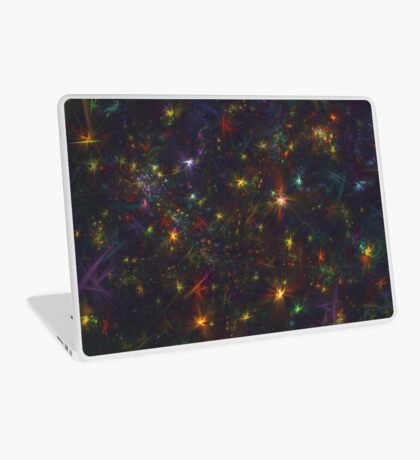Cosmic fractals Laptop Skin