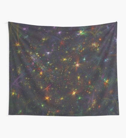 Cosmic fractals Wall Tapestry