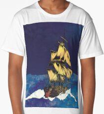 Sailing Ship Long T-Shirt