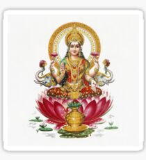 Lakshmi - Hindu Goddess of Wealth, Fortune, Health and Prosperity Sticker