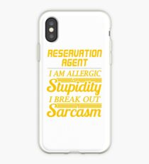 RESERVATION AGENT iPhone Case