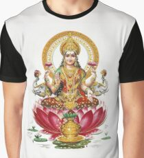 Lakshmi - Hindu Goddess of Wealth, Fortune, Health and Prosperity Graphic T-Shirt