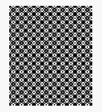 Black & White Graphic Pattern Photographic Print