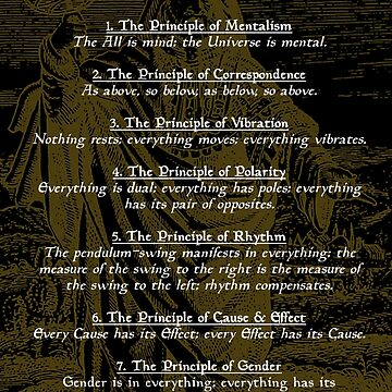The 7 Hermetic Principles by SigilSorcery