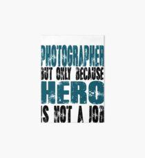 Photographer Hero Art Board