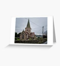 Crickhowell Church Greeting Card