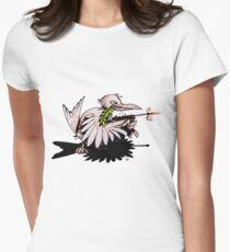 Fighting For Peace (1) Womens Fitted T-Shirt
