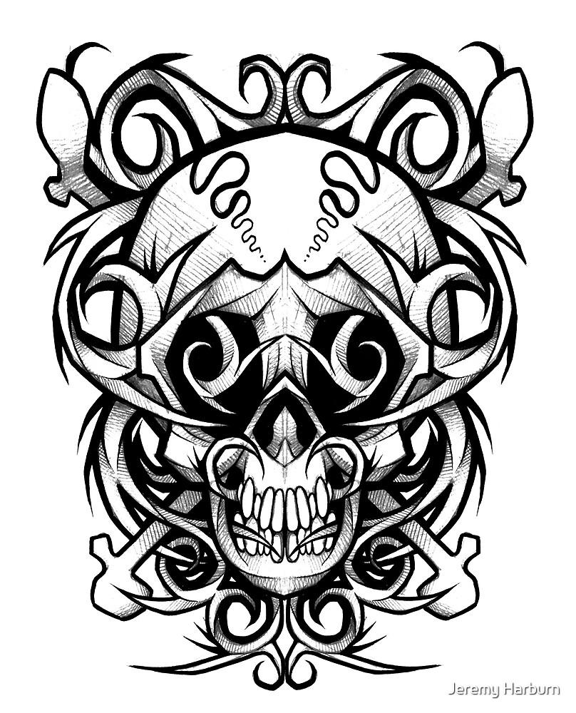 Crazy Skull by Jeremy Harburn