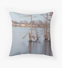Once upon a trees Throw Pillow