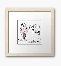 Mila Bug The Little Ladybird Framed Print
