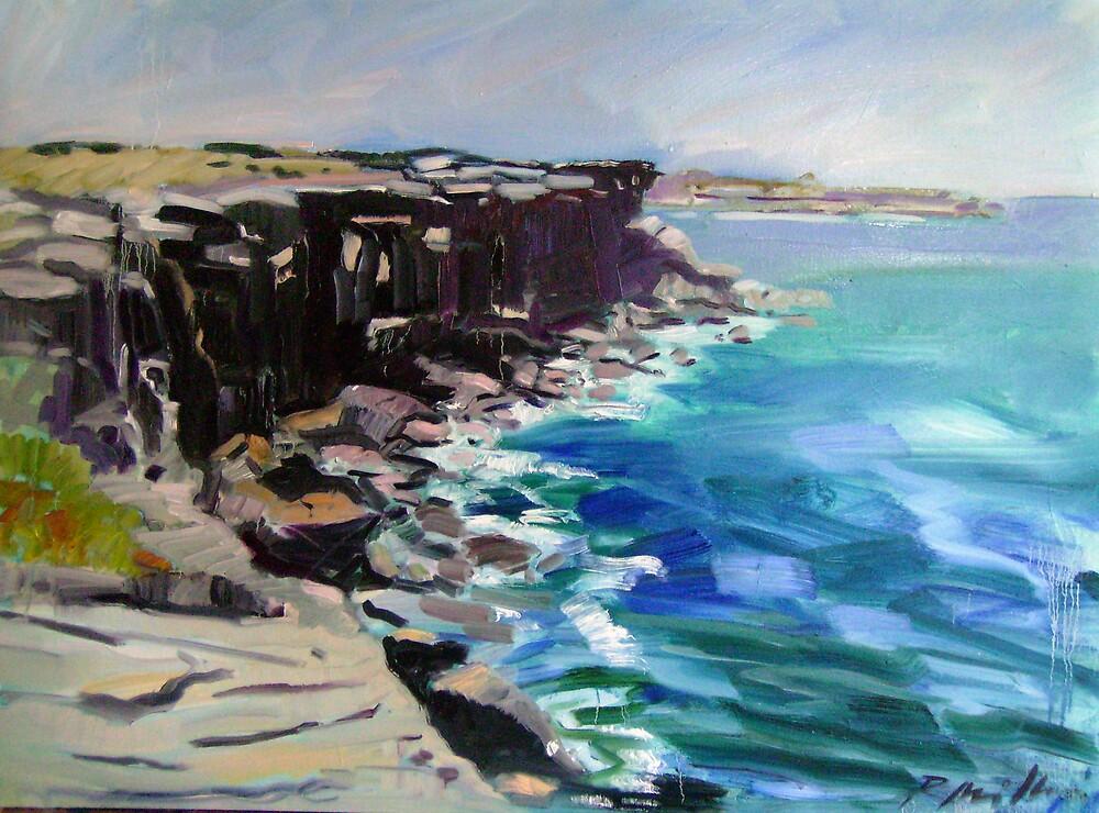 Cliffs by Paul  Milburn